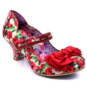 "NEW Irregular Choice ""Summer Breeze"" shoes sz 5"